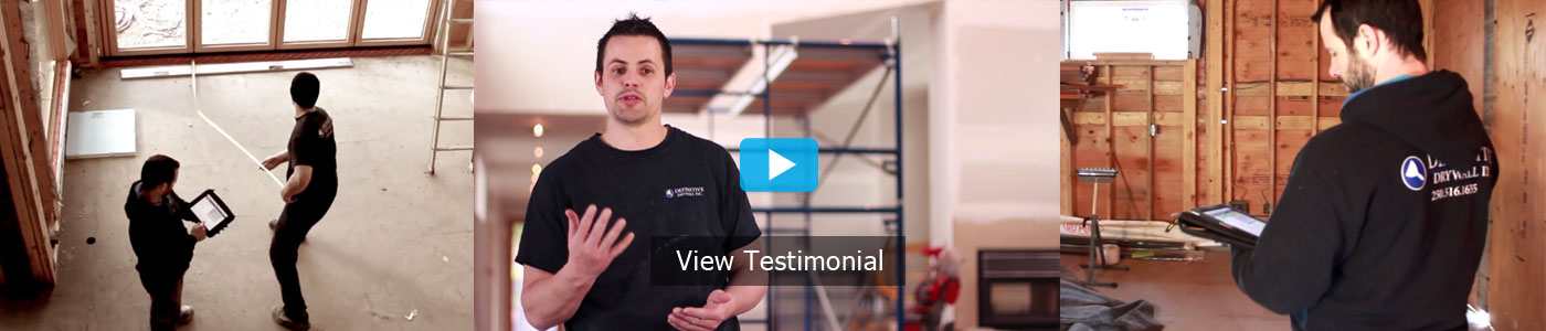 drywall application testimonial review